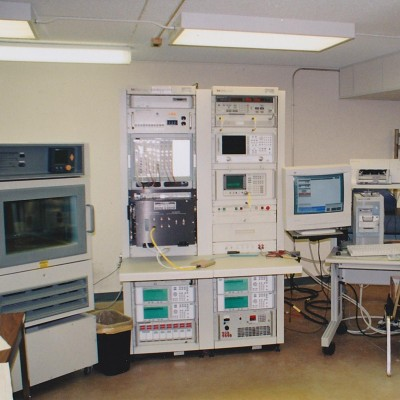 RF Radio Frequency Electronic Circuit Testing